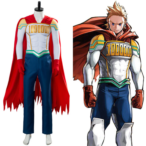 Lemillion Mirio Togata My/Boku no Hero Academia Suit Costume Cosplay