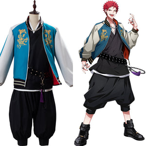 Kuko Harai Costume Division Rap Battle DRB Evil Monk Hypnosis Mic Bad Ass Temple Suit Cosplay Costume