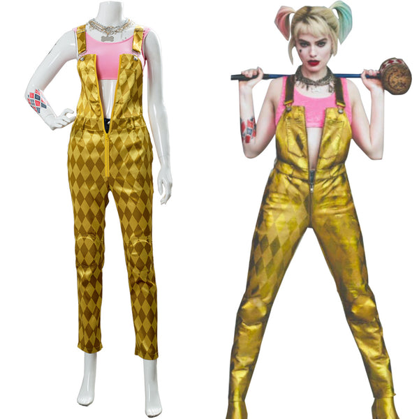 Birds of Prey (And the Fantabulous Emancipation of One Harley Quinn) Shirt Cosplay Costume