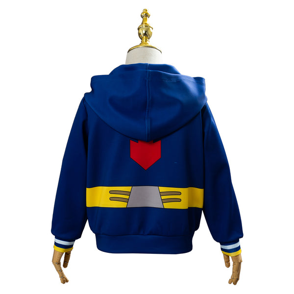 My/Boku no Hero Academia Midoriya Izuku deku HEROS RISING Hoodie For Kids Cosplay Costume