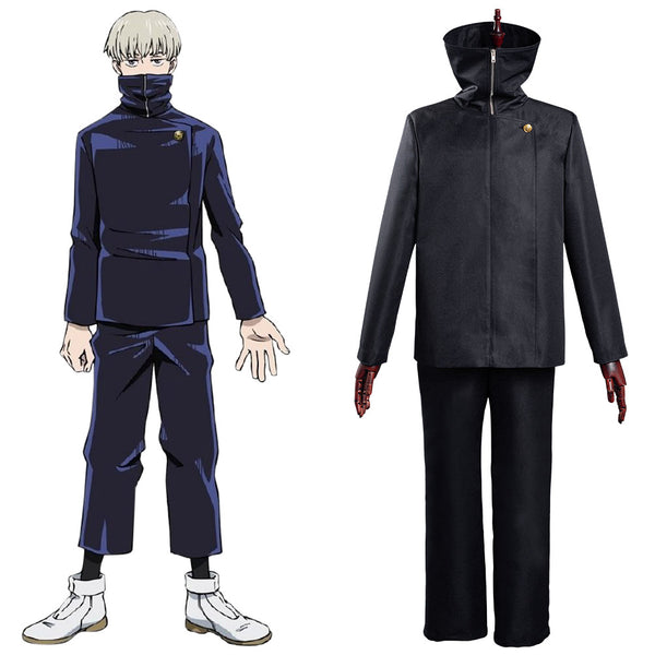 Jujutsu Kaisen-Toge Inumaki Cosplay Costume School Uniform Outfits Halloween Carnival Suit