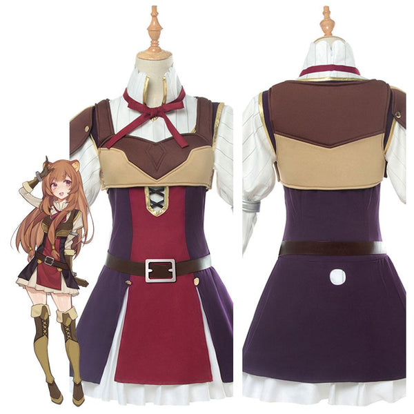 The Rising of The Shield Hero Raphtalia Cosplay Costume Adult