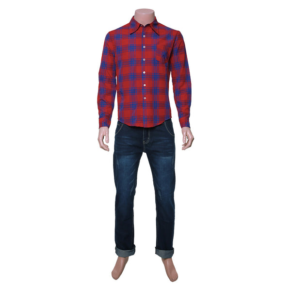 Ian Lightfoot Shirt Costume Onward Outfit Cosplay Costume