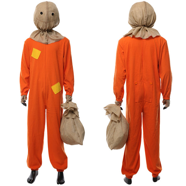 Trick 'R Treat Sam Adult Halloween Suit Cosplay Costume