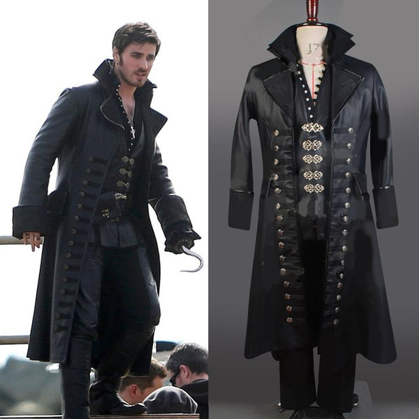 Once Upon A Time Captain Hook Cosplay Costume