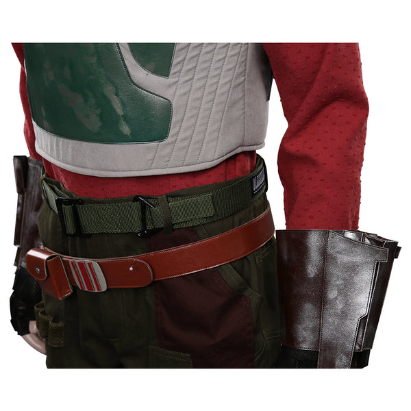 The Mandalorian S2 Cobb Vanth Cosplay Costume Top Pants Outfits Halloween Carnival Suit