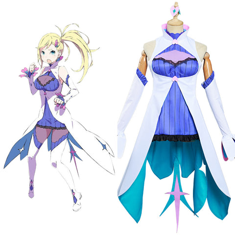 Re: Life in a different world from zero Minerva Cosplay Costume Women Dress Outfits Halloween Carnival Suit