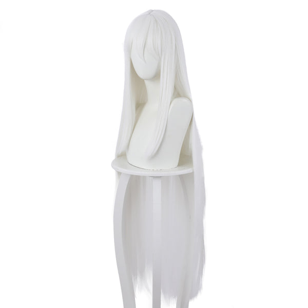 Anime Re:Zero Starting Life in Another World Echidna Cosplay Wigs White Long Hair Wig