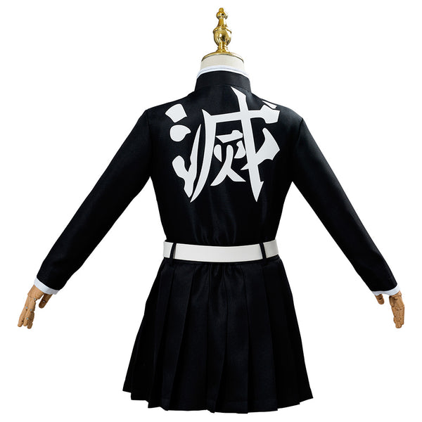 Demon Slayer Tsuyuri Kanawo Halloween Carnival Suit Cosplay Costume Kids Children Uniform Outfit