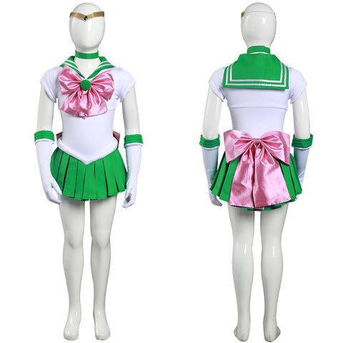 Anime Sailor Moon Kino Makoto Cosplay Costume Kids Grils Dress Outfits Halloween Carnival Suit