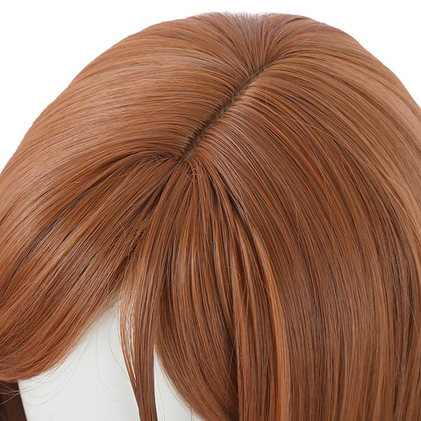 Jujutsu Kaisen Kugisaki Nobara Cosplay Wig Heat Resistant Synthetic Hair Carnival Halloween Party Props