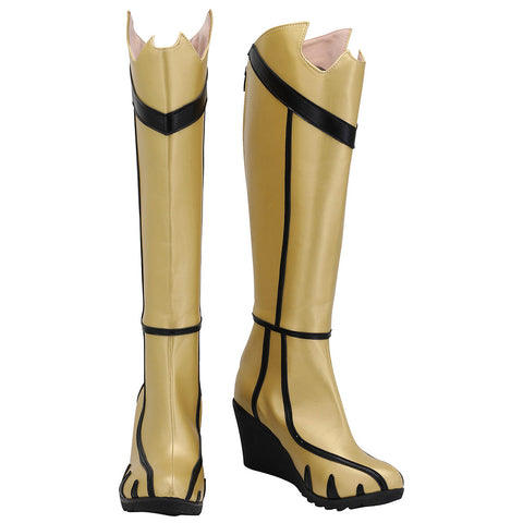 Batman Arkham Knight: Batgirl Cosplay Shoes Boots Halloween Costumes Accessory