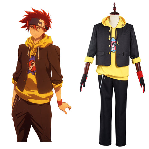SK8 the Infinity Reki Cosplay Costume Coat Pants Outfits Halloween Carnival Suit