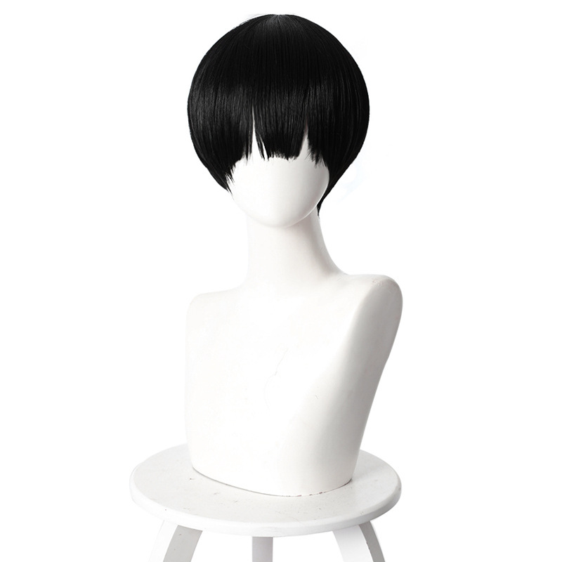 Jibaku Shounen Toilet-Bound Hanako-kun Black Wig Cosplay Wig