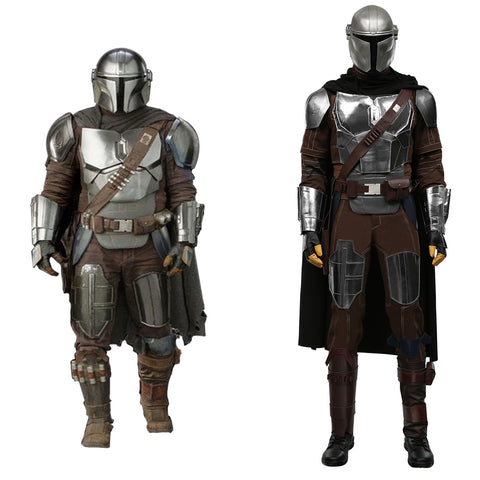 The Mandalorian Season 2 -Din Djarin Cosplay Costume Dress Outfits Halloween Carnival Suit