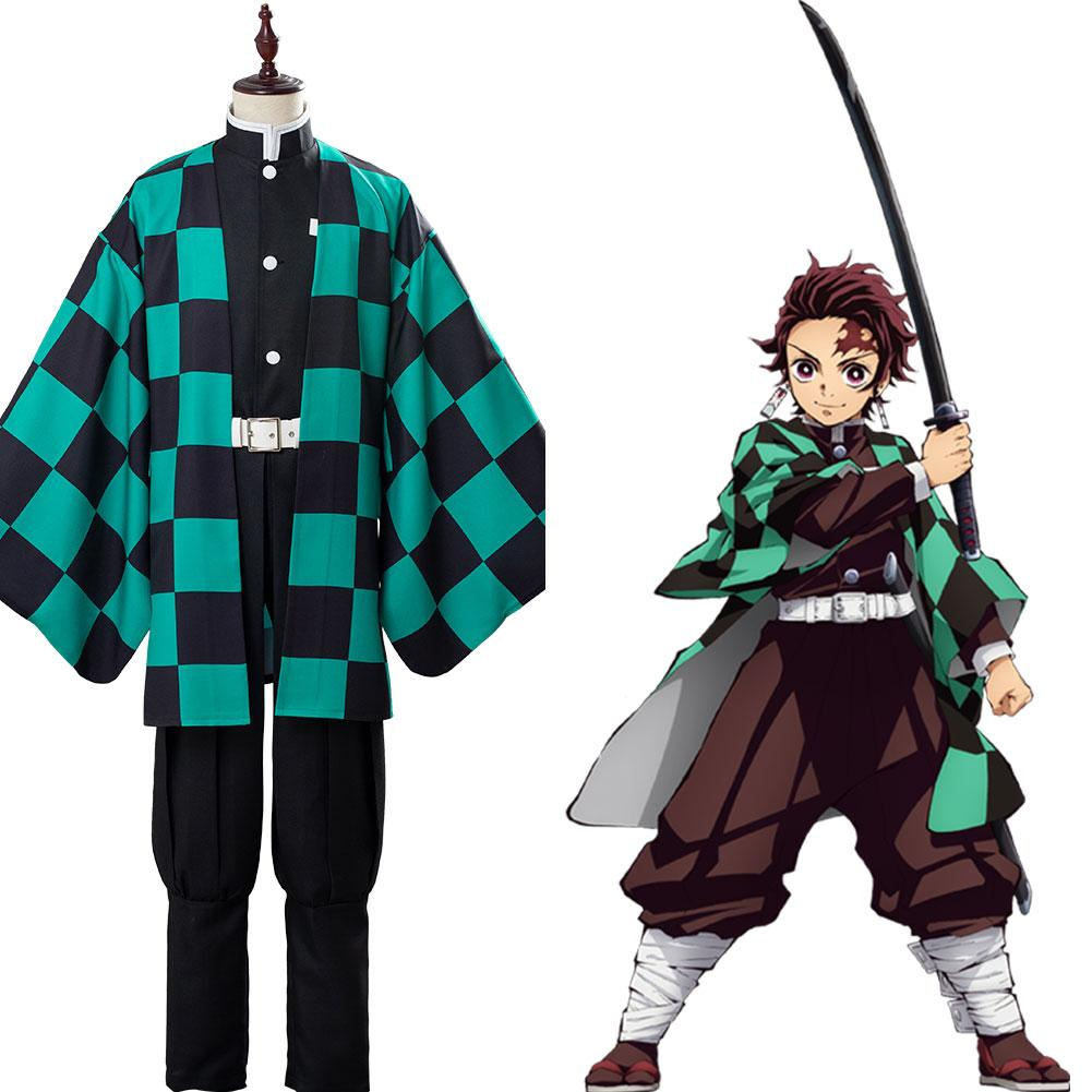 Demon Slayer Kamado Tanjirou Cosplay Costume