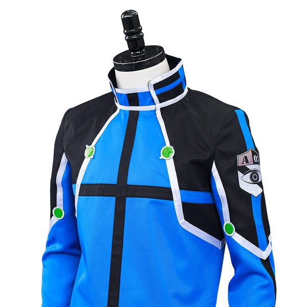 Anime World Trigger Kazama Unit Cosplay Costume Uniform Outfits Halloween Carnival Suit