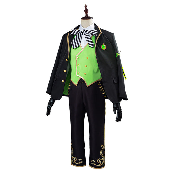 Twisted Wonderland Lilia Vanrouge Cosplay Costume Uniform Outfit Halloween Carnival Costume for Adult