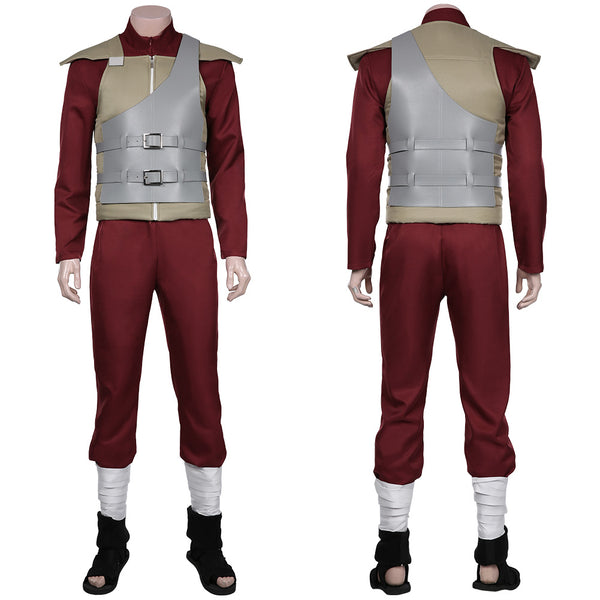 NARUTO-Sabaku no Gaara Cosplay Costume Jumpsuit Outfits Halloween Carnival Suit