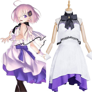 FGO Fate/Grand Order The Fifth Anniversary Mash Kyrielight Cosplay Costume Dress Outfits Halloween Carnival Suit