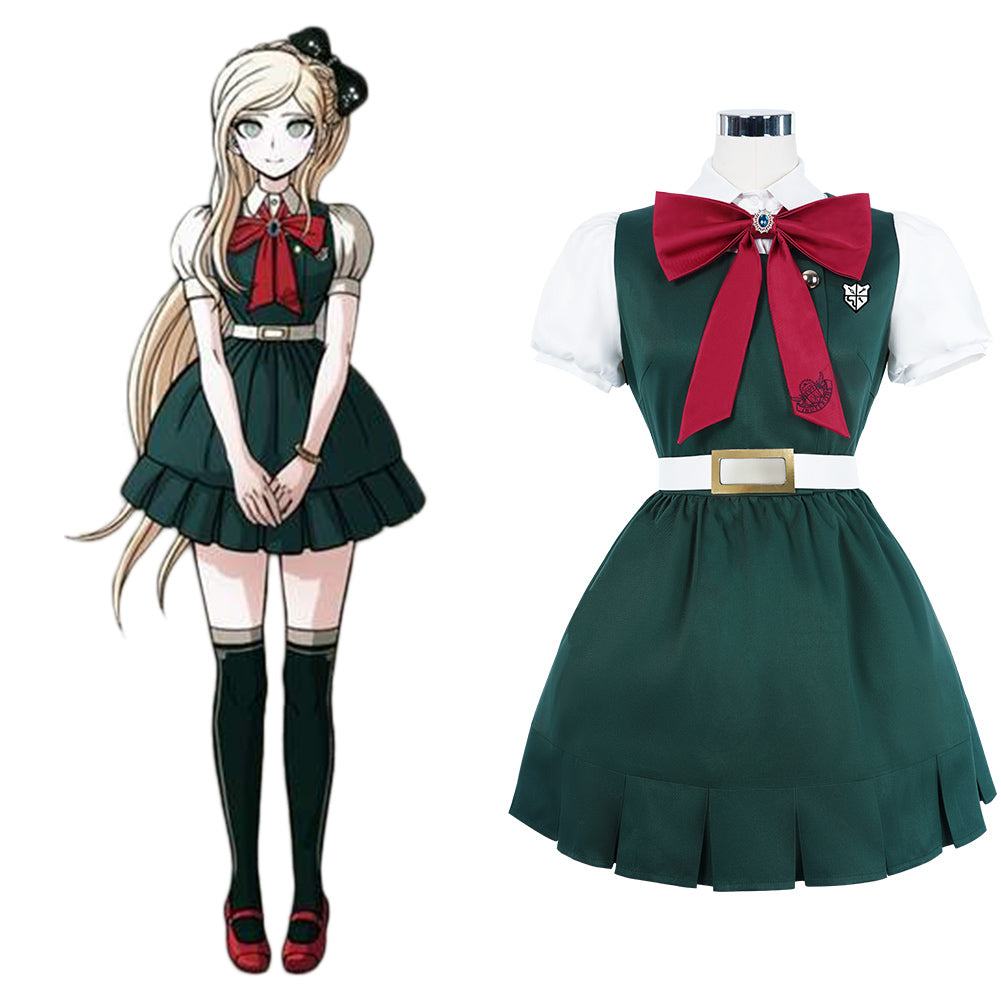 Super Projectile Rhapsody 2: Goodbye Desperate Academy-Sonia Nevermind Cosplay Costume School Uniform Dress Outfits Halloween Carnival Suit