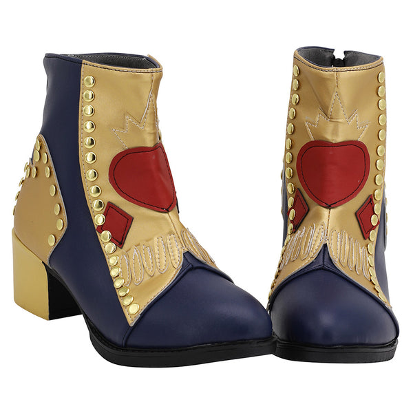 Descendants 3 Evie Cosplay Shoes Boots Halloween Costumes Accessory