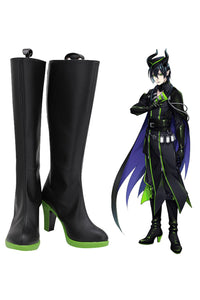 Twisted Wonderland Malleus Draconia Boots Halloween Party Shoes Cosplay Shoes