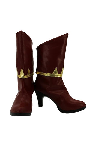 RWBY Pyrrha Nikos Cosplay Boots Shoes