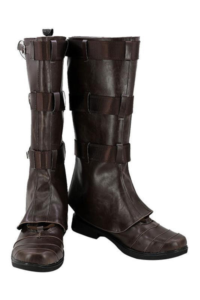 Avengers Infinity War Captain America Steven Rogers Cosplay Shoes Boots