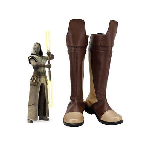 Star Wars Jedi Temple Guard Boots Halloween Costumes Accessory Cosplay Shoes