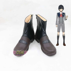 DARLING in the FRANXX Hiro cosplay shoes boots