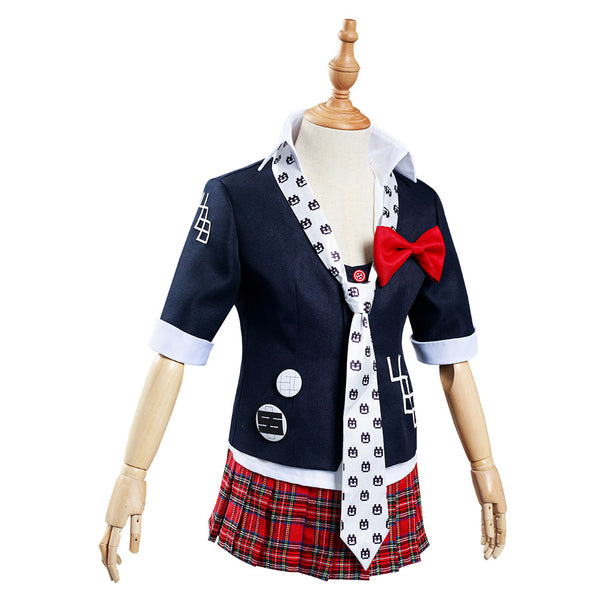 Danganronpa Enoshima Junko Cosplay Costume Kids Children Uniform Skirt Outfits Halloween Carnival Suit