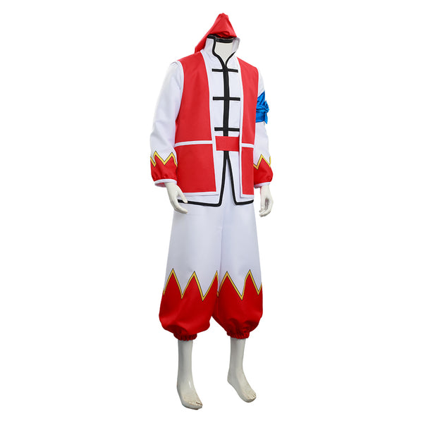 Cooking Master Boy/Chuuka Ichiban! Liu Maoxing Cosplay Costume Shirt Uniform Outfits Halloween Carnival Suit