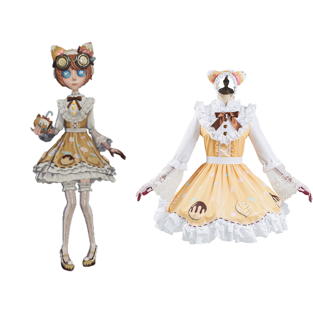 Game Identity V Machinist Tracy Reznik Cosplay Costume New Skin Candy Girl Lolita Dress Outfits Halloween Carnival Suit