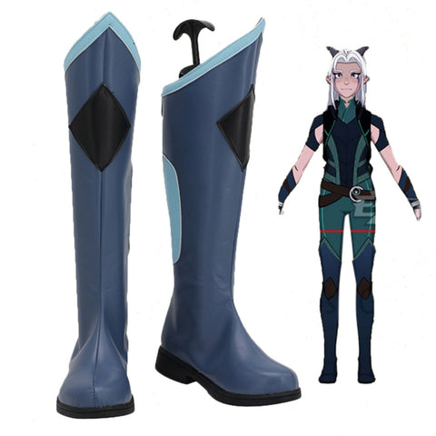 The Dragon Prince-Rayla Cosplay Shoes Boots Halloween Costumes Accessory