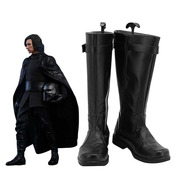 Star Wars: The Last Jedi Poe Dameron Cosplay Shoes Boots Halloween Costumes Accessory