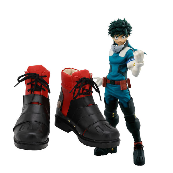 My Hero Academia Midoriya Izuku Boots Cosplay Shoes