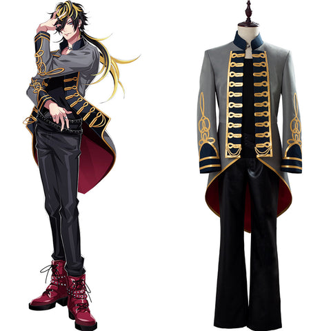 Hypnosis Mic Division Rap Battle DRB Cosplay 14th Moon Bad Ass Temple Aimono Jyushi Outfit Cosplay Costume