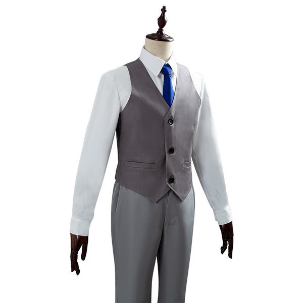 Animal Crossing Raymond Suit Cosplay Costume