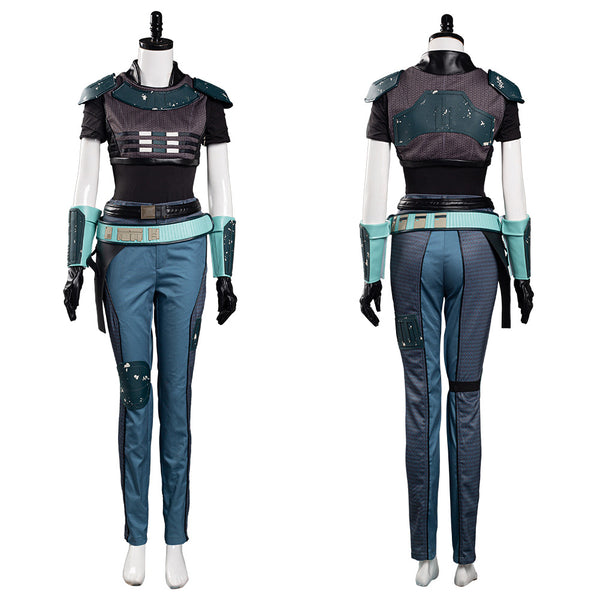 Mandalorian Cara Dune Cosplay Costume Women Uniform Outfits Halloween Carnival Suit