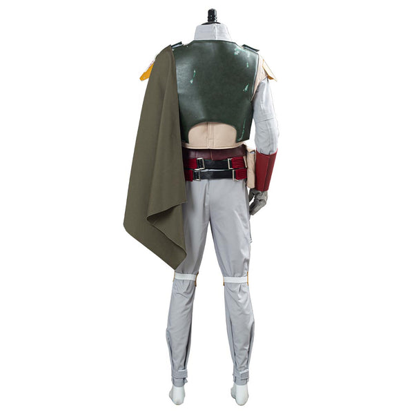 Star Wars Boba Fett Cosplay Costume Men Uniform Outfit Halloween Carnival Suit