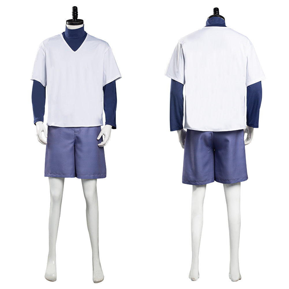Hunter X Hunter Killua Zoldyck Cosplay Costume Top Shorts ...