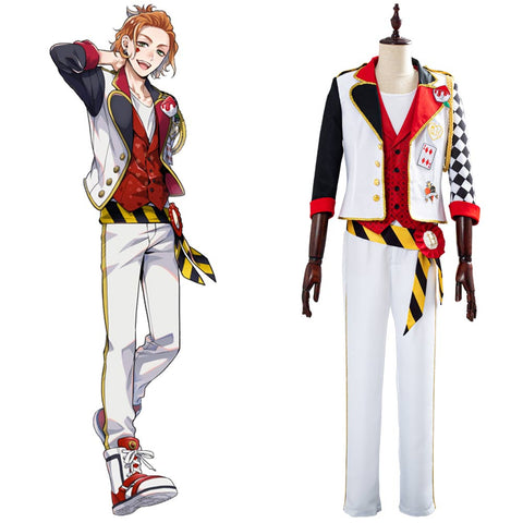 Game Twisted-Wonderland Alice in Wonderland Cosplay Costume Theme Cater Halloween Uniform Outfits