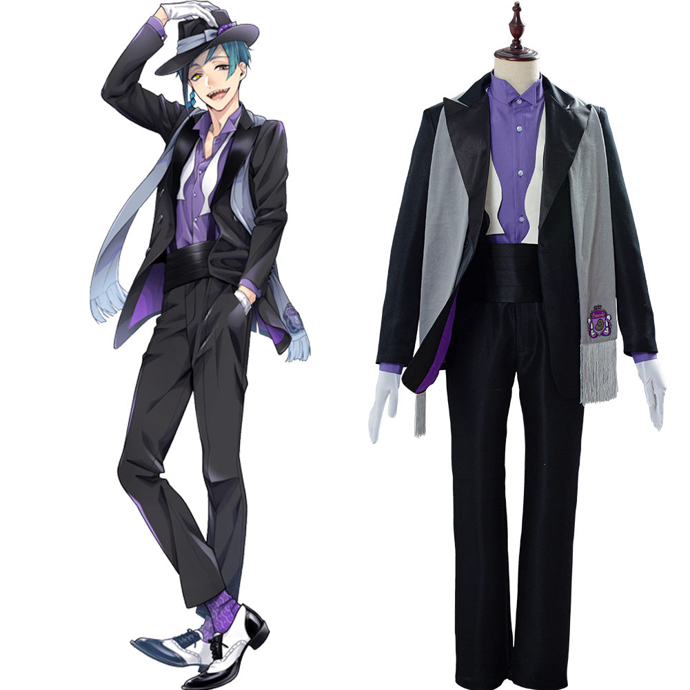 Floyd Leech Outfit Twisted Wonderland Cosplay Costume