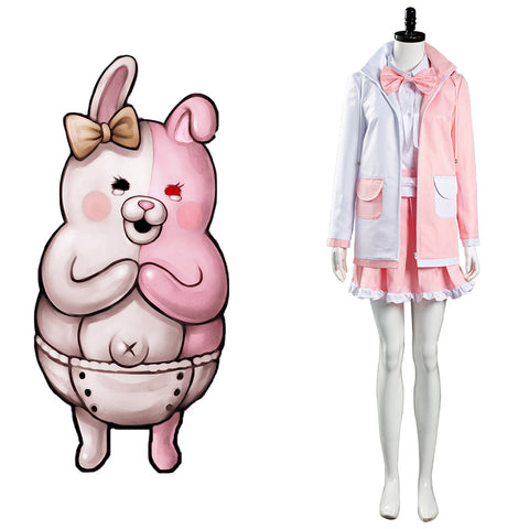 Danganronpa 2 Monomi Cosplay Costume Uniform Skirt Outfits Halloween Carnival Suit
