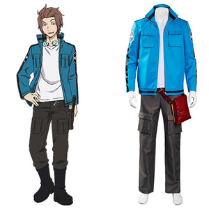 Anime World Trigger Jin Yuichi Cosplay Costume Top Pants Outfits Halloween Carnival Suit