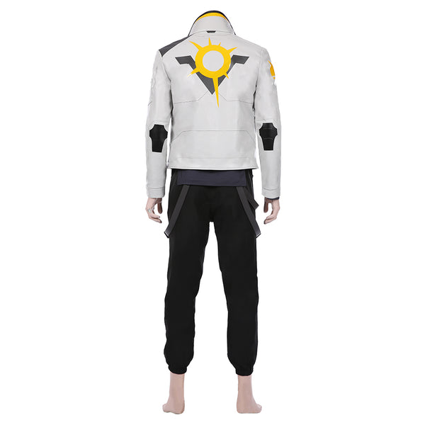 Game Valorant-Phoenix Cosplay Costume Men Jacket Pants Suit Halloween Carnival Outfit