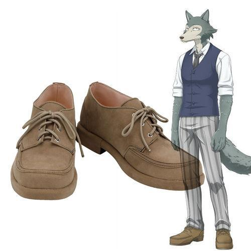 Cherryton High School Boys Louis Legosi Beastars Cosplay Shoes