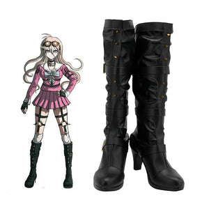 Danganronpa V3: Killing Harmony Miu Iruma Cosplay Shoes Boots Halloween Costumes Accessory
