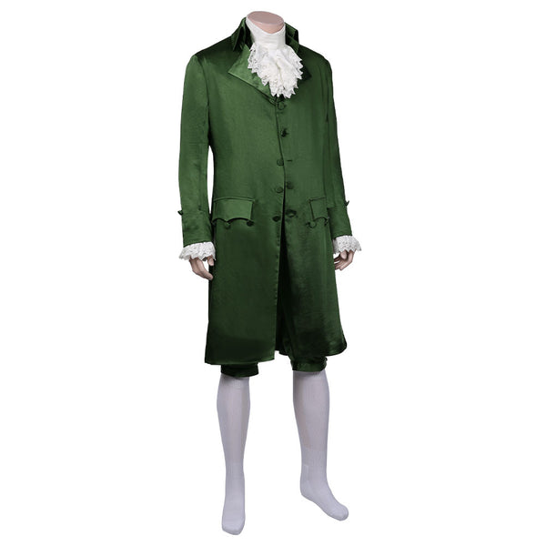 Musical-Hamilton Green Cosplay Costume Replica Colonial Victorian Edwardian Outffits Halloween Carnival Suit